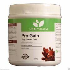 HEALTHFARM PRO GAIN SOY Protein Powder Great Taste Value 100% Whey FREE SHIPPING