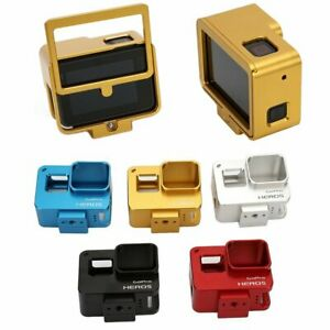 Aluminium Alloy Housing Cage Frame Case Cover for GoPro Hero 5 6 7 Black Camera