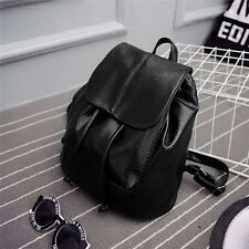Women's Girl's Leather Backpack Rucksack Travel School Bag Shoulder Bags Satchel