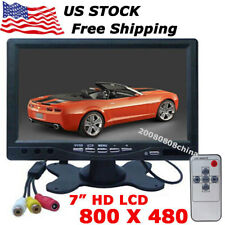 "12V-24V 7"" Digital TFT LCD Screen Color Car Monitor for Car Backup Camera, DVD,"
