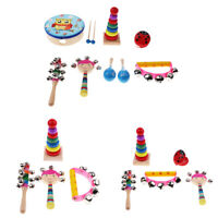 Musical Instruments Educational Set Children Baby Toddler Percussion Toys Gift