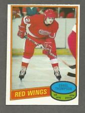 1980-81 O-Pee-Chee OPC Hockey Errol Thompson #234 Detroit Red Wings NM/MT