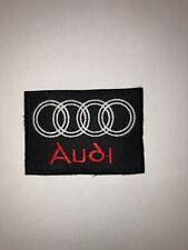Audi Auto Patch Aufnäher Biker Motorrad Patches Set Aufbügler