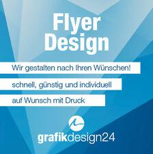Flyer Design - Wir gestalten - schnell, günstig und individuell!