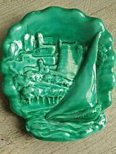 Ceramique signé Cerart Monaco Vide poche.souvenir des années 50's.