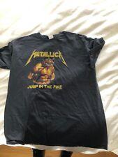 metallica jump in the FIre 2XL shirt fits like XL