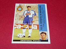 CRISTOBAL PARRATO ESPANYOL BARCELONA PANINI LIGA 95-96 ESPANA 1995-1996 FOOTBALL