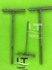 Bone Tap Hammer with T Handle Orthopedics Surgical Instruments 3 Pcs Set A+