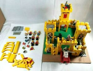 Vintage 1978 LEGO Classic Yellow Castle 375 / 6075 Not Complete! Extra Pieces!