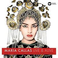 Maria Callas - Live And Alive (NEW VINYL LP)