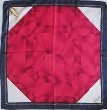 -Superbe Foulard MUST DE CARTIER 100% soie TBEG vintage scarf 85 x 87 cm cf5ace039f1