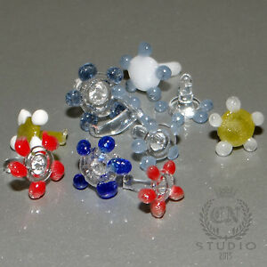 30 x PYREX GLASS Daisy Flower Smoking PIPE SCREEN Hookah Colors SMALL Lot PACK