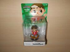 Villager Amiibo Nintendo Wii U Action Figure Toy Super Smash Bros New Sealed