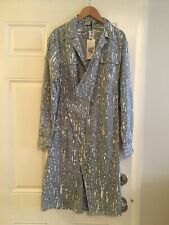 Tomas Maier of Bottega Veneta, Striped Poplin Dress, size 2, orig $990