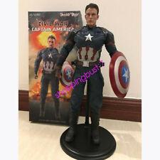 CIVIL WAR  Captain America 1/6 Empire Toys PVC Figure IN BOX Limited IN STOCK