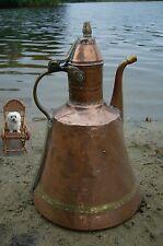 Carafe en cuivre 33 cm à la main main martelée Maroc 1,4 kg