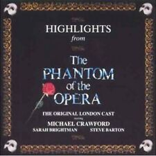 Highlights from The Phantom of the Opera - Original London Cast (NEW CD)