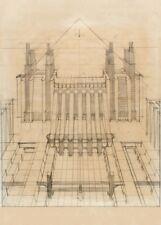 Calendario ANTONIO SANT/'ELIA Vintage Architecture Futurism Poster