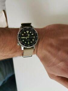 Mens Citizen Automatic Diver Watch