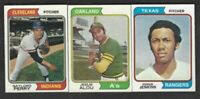 1974 TOPPS BASEBALL CARDS:100 cards for $75.67