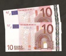 2 x 2002 European €10 Euro ( Germany & Austria) Uncirculated