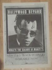Hollywood Beyond lo que THE COLOUR 1986 EDICIÓN anuncio completo Páginas 28 x 39