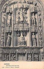 Spain Burgos Retablo de San Gil