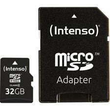 Intenso 32 gb micro sdhc-card scheda microsdhc class 4 incl adattatore sd