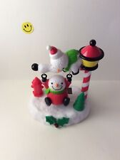 Solar Power Dancing  Swing Toy Snowmen  For Home Car Decor Gift