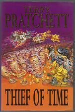 TERRY PRATCHETT/THIEF OF TIME/1st EDITION 1st IMPRESSION/HB/MINT IN DW/FANTASY
