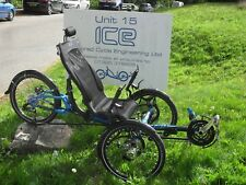 ICE 2016 Adventure 20 FULL Suspension Recumbent trike -EX - Demo With Extras