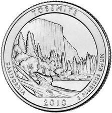 2010 Yosemite National Park California Quarter Philadelphia Denver 2 Coin Set