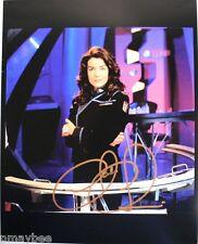 "Autographed 8""x10"" Claudia Christian Photo as Susan Ivanova - Babylon 5"