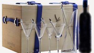 GREY GOOSE VODKA MARTINI GRAND EXPLORER SET ALCOHOL IS NOT INCLUDED BNIB