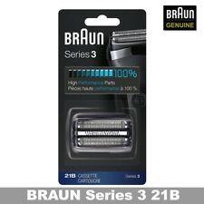 Braun 21B Series 3 Electric Shaver Replacement Foil and Cassette Cartridge New