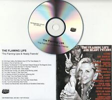 THE FLAMING LIPS And Heady Fwends UK 13-track promo test CD Bon Iver Nick Cave