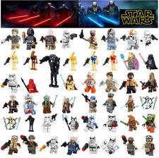 Lego Compatible Minifigures 6 x Starwars Mini-figurines Selected at Random