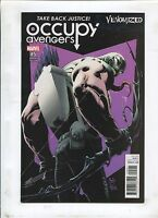 OCCUPY AVENGERS #5 A NEW MEMBER JOINS THE TEAM! (9.2) 2017 VENOMIZED VARIANT