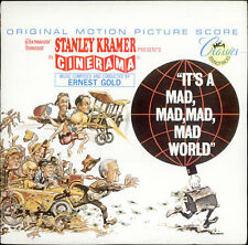 ERNEST GOLD - IT'S A MAD, MAD, MAD, MAD WORLD - LP Soundtrack MINT
