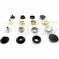 Heavy duty Poppers Snap Fasteners Press Stud Sewing Rivet Leather Craft A3L