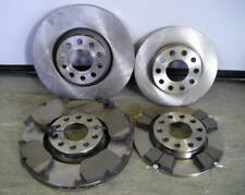 AUDI A4 FRONT & REAR BRAKE DISCS & PADS 1.8 TURBO 2001-08 2.4,2.5 TDI 2001-2005