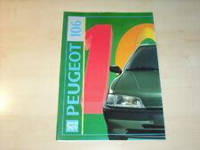 27980) Peugeot 106 Prospekt 1991