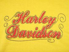 Vintage 70s HARLEY DAVIDSON Ladies T-Shirt UNWORN biker motorcycle not 80s 90s