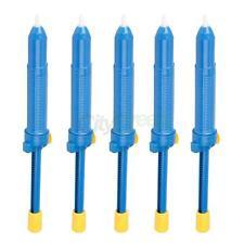 5x Solder Sucker Desoldering Pump Solder Irons Remove Remover Tool Blue CA