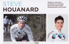 CYCLISME carte cycliste STEVE HOUANARD équipe AG2R prévoyance 2011