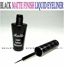 Italia Deluxe Black Matte Liquid Eyeliner - Black Waterproof Liquid Eyeliner