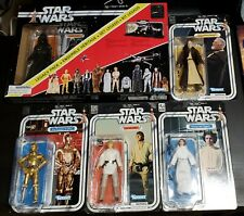 Star Wars Black Series 40th Anniversary Luke, Leia, Vader, Obi Wan Kenobi &...