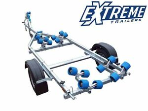 New Extreme 750kg Maxi Roller Rib Craft Boat Trailer
