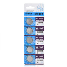 5PCS Lots CR2032 3V Button Cell Coin Battery Kits for Watch Toys Remote