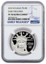2010-W 1 Oz .9995 Platinum Eagle $100 NGC PF70 UC ER Early Releases SKU22258